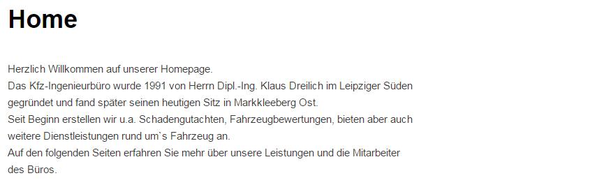 Kfz Gutachter in Markkleeberg - Kfz-Technik Dreilich: Sachverständiger, Unfallgutachten, Oldtimer Fahrzeugbewertung, TÜV Hauptuntersuchung, Ingenieurbüro
