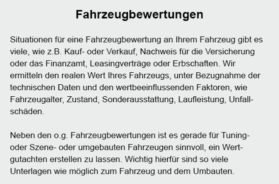 Fahrzeugbewertungen in  Markkleeberg