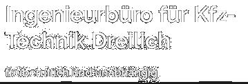 Ingenieurbüro für Kfz-Technik Dreilich Logo